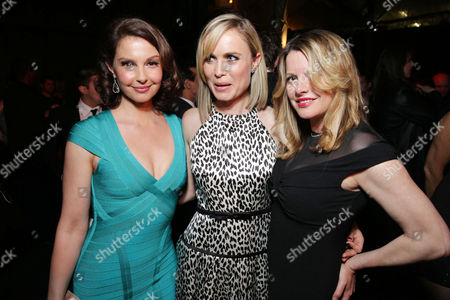 Ashley Judd, Radha Mitchell and Executive Producer Heidi Jo Markel at FilmDistrict's Premiere of 'Olympus Has Fallen' hosted by Brioni and Grey Goose at the ArcLight Hollywood, on Monday, March, 18, 2013 in Los Angeles