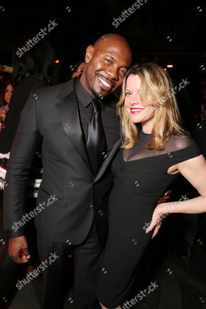 Director Antoine Fuqua and Executive Producer Heidi Jo Markel at FilmDistrict's Premiere of 'Olympus Has Fallen' hosted by Brioni and Grey Goose at the ArcLight Hollywood, on Monday, March, 18, 2013 in Los Angeles