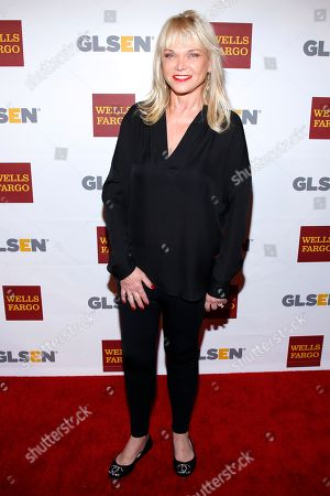 Linda Bell Blue attends the GLSEN Respect awards at the Beverly Hills Hotel, in Beverly Hills, Calif
