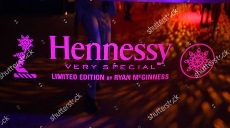 Atmosphere at the Hennessy V.S. launches limited edition bottle with Ryan McGinness event at Highline Stages, on in New York