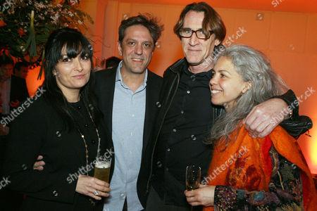 Giorgio Locatelli and wife Plaxy with John Reardon and wife