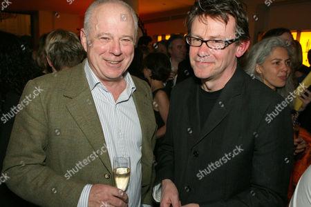 Stock Image of Mathew Fort and Nigel Slater