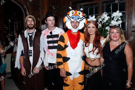 Audrina Patridge and Corey Bohan seen at the KIIS FM Halloween Party at the House of Rock benefitting The Painted Turtle, in Santa Monica, Calif