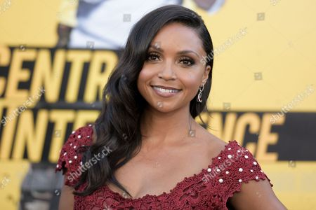"Danielle Nicolet attends the LA Premiere of ""Central Intelligence"" held at the Regency Village Theater, in Los Angeles"