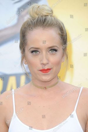"""Megan Park attends the LA Premiere of """"Central Intelligence"""" held at the Regency Village Theater, in Los Angeles"""