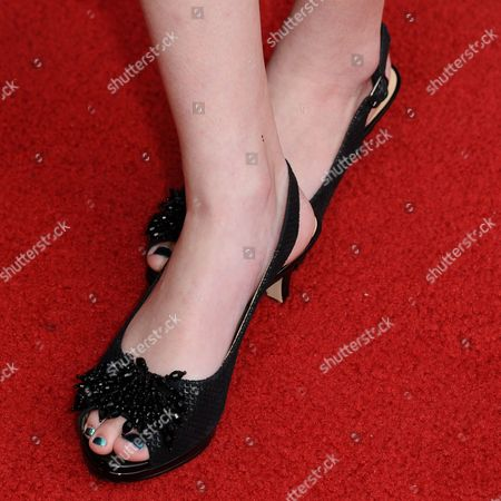 """Stock Image of Addy Miller arrives at the LA Premiere of """"Dark Places"""" held at Harmony Gold Theater on in Los Angeles"""