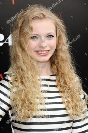 """Addy Miller arrives at the LA Premiere of """"Dark Places"""" held at Harmony Gold Theater on in Los Angeles"""