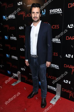 """Writer/director Gilles Paquet-Brenner arrives at the LA Premiere of """"Dark Places"""" held at Harmony Gold Theater on in Los Angeles"""