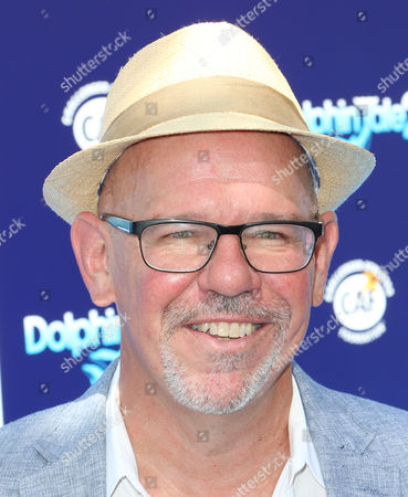 """Charles Martin Smith seen at the LA Premiere of """"Dolphin Tale 2"""" on at Regency Village Theater in Los Angeles, California"""