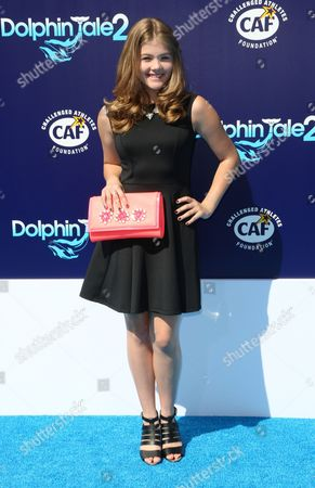 "Kerri Medders seen at the LA Premiere of ""Dolphin Tale 2"" on at Regency Village Theater in Los Angeles, California"