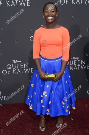 """Editorial image of LA Premiere of """"Queen of Katwe"""" - Arrivals, Los Angeles, USA"""