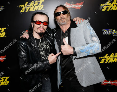 "Editorial picture of LA Premiere of ""The Last Stand"", Los Angeles, USA"