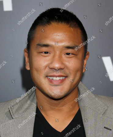 """Gene Hong attends the LA premiere of """"End of Watch"""" at Regal Cinemas L.A. Live, in Los Angeles"""