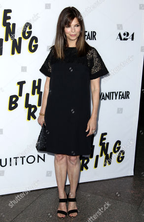 "Jeanne Tripplehorn arrives at the LA premiere of ""The Bling Ring"" at the Director's Guild of America on in Los Angeles"