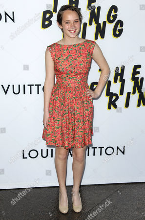 """Georgia Rock arrives at the LA premiere of """"The Bling Ring"""" at the Director's Guild of America on in Los Angeles"""