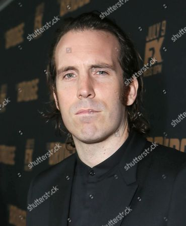 Thomas M. Wright arrives at the premiere screening of 'The Bridge' at the Pacific Design Center, in West Hollywood, Calif