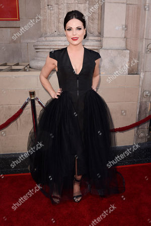 """Lanna Parrilla Actress Lana Parrilla attends a special screening of the season four premiere of the ABC television series """"Once Upon a Time"""" at the El Capitan Theatre, in Los Angeles"""