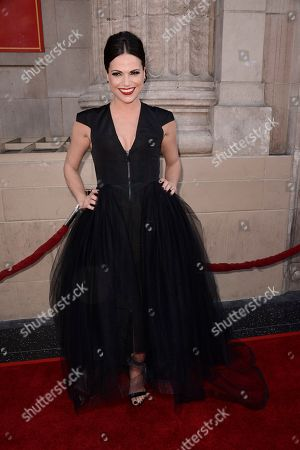 """Stock Picture of Actress Lanna Parrilla attends a special screening of the season four premiere of the ABC television series """"Once Upon a Time"""" at the El Capitan Theatre on in Los Angeles"""