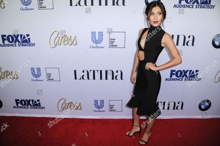 "Ashley Campuzano arrives at Latina Magazine's ""Hot List"" party, at the London Hotel in West Hollywood, Calif"