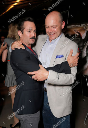 """Robert Ben Garant and Rob Corddry attend Millennium Entertainment's """"Hell Baby"""" Los Angeles Premiere at the Chinese 6 Theater Hollywood on in Hollywood, California., on Monday, August, 19, 2013 in Los Angeles"""