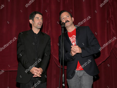 """Thomas Lennon and Robert Ben Garant attend Millennium Entertainment's """"Hell Baby"""" Los Angeles Premiere at the Chinese 6 Theater Hollywood on in Hollywood, California., on Monday, August, 19, 2013 in Los Angeles"""