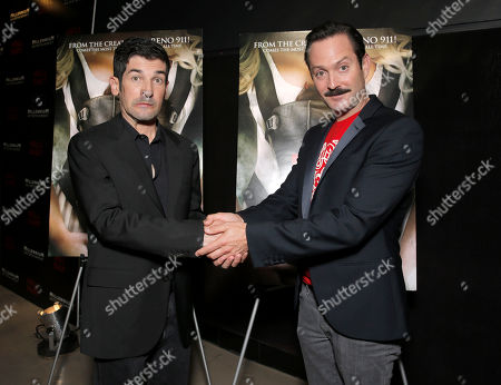 """Writer/Directors Thomas Lennon and Robert Ben Garant attend Millennium Entertainment's """"Hell Baby"""" Los Angeles Premiere at the Chinese 6 Theater Hollywood on in Hollywood, California., on Monday, August, 19, 2013 in Los Angeles"""