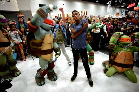 Editorial picture of Nickelodeon at Comic Con, San Diego, USA