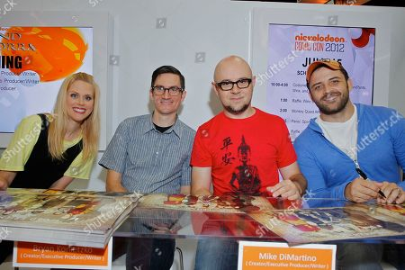 Editorial photo of Nickelodeon at Comic Con, San Diego, USA
