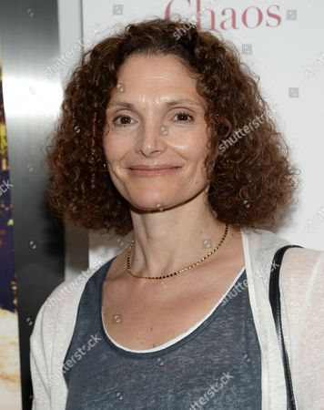 """Stock Picture of Mary Elizabeth Mastrantonio attends the premiere of """"A Little Chaos"""" at the Museum of Modern Art, in New York"""