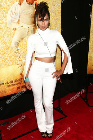 """Jen Morillo attends the premiere of """"Popstar: Never Stop Never Stopping"""" at AMC Loews Lincoln Square, in New York"""