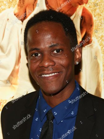 """Stock Photo of Edgar Blackmon attends the premiere of """"Popstar: Never Stop Never Stopping"""" at AMC Loews Lincoln Square, in New York"""