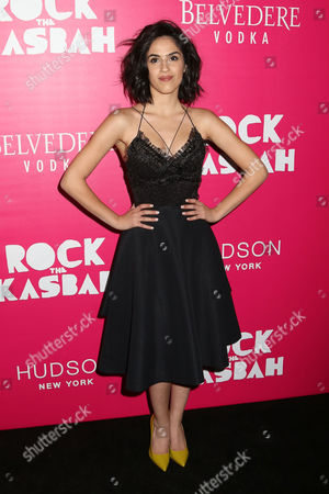 "Leem Lubany attends the premiere of ""Rock The Kasbah"" at the AMC Loews Lincoln Square, in New York"
