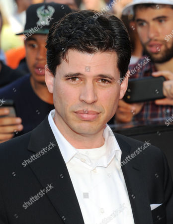 """Author Max Brooks attends the premiere of """"World War Z"""" in Times Square on in New York"""