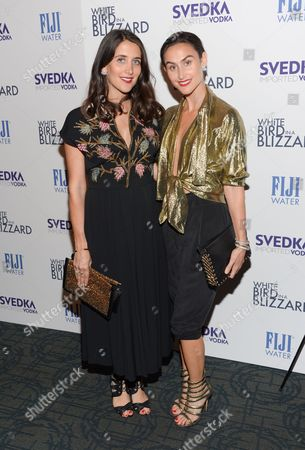 """Jodie Snyder and Danielle Snyder attend a special screening of """"White Bird In A Blizzard"""" at the Landmark Sunshine Theater, in New York"""