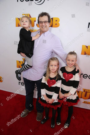Allen Covert seen at Open Road's Premiere of 'The Nut Job', on in Los Angeles