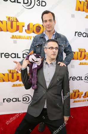 Will Arnett and Director/Writer Peter Lepeniotis seen at Open Road's Premiere of 'The Nut Job', on in Los Angeles