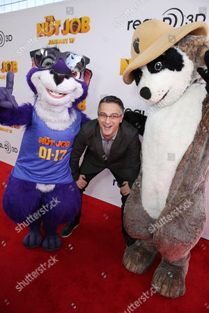 Director/Writer Peter Lepeniotis seen at Open Road's Premiere of 'The Nut Job', on in Los Angeles