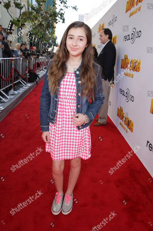 Victoria Strauss seen at Open Road's Premiere of 'The Nut Job', on in Los Angeles