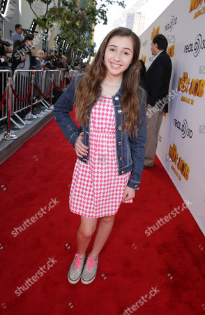 Stock Picture of Victoria Strauss seen at Open Road's Premiere of 'The Nut Job', on in Los Angeles