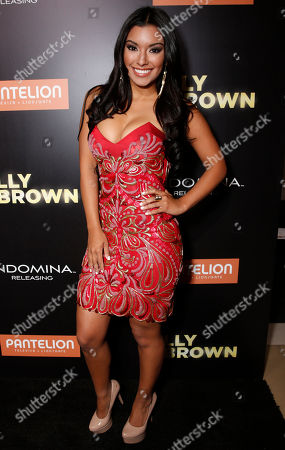 """Zuleyka Silver attends Pantelion's """"Filly Brown"""" Los Angeles Premiere Hosted by the Rivera Family at the Regal LA Live Stadium on in Los Angeles"""
