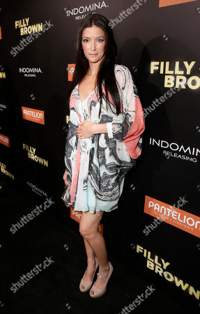 """Stock Picture of Kelly Wolfe attends Pantelion's """"Filly Brown"""" Los Angeles Premiere Hosted by the Rivera Family at the Regal LA Live Stadium on in Los Angeles"""