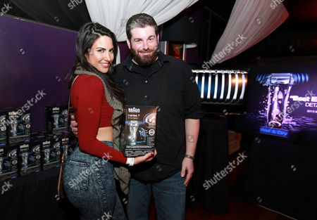 Estrella Nouri is seen at PCL Day Lounge Day 2 on in Park City, Utah