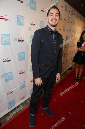 Honoree Salvador Santana seen at Peace Over Violence 42nd Annual Humanitarian Awards, on Friday, Oct., 25, 2013 in Beverly Hills, Calif