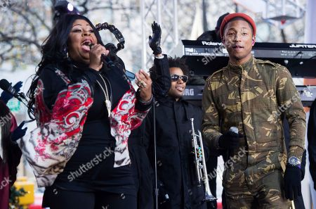 Editorial photo of Pharrell Performs on NBC's Today Show, New York, USA