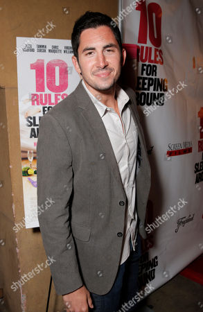 Stock Picture of Chris Arena attends the premiere of Screen Media Films' '10 Rules For Sleeping Around' at the Egyptian Theatre on in Hollywood, California