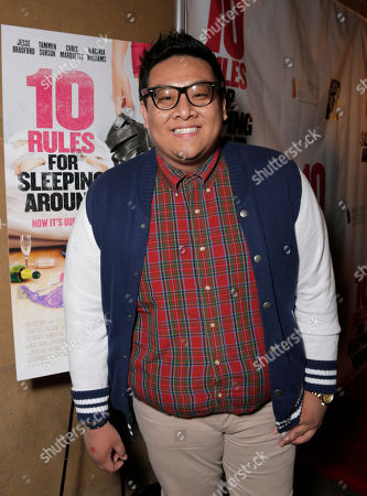 Daniel Nguyen attends the premiere of Screen Media Films' '10 Rules For Sleeping Around' at the Egyptian Theatre on in Hollywood, California