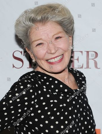 "Actress Phyllis Somerville attends the premiere of ""Stoker"" at Walter Reade Theatre on in New York"