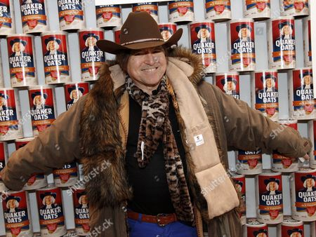 Stock Image of New York radio character George Whipple was seen at Quaker Good Energy Lodge with GenArt and the Collective during Sundance 2014 on Saturday, January, 18, 2014 in Park City, Ut