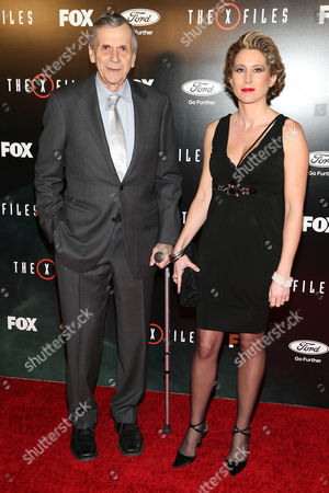 William B. Davis and Emmanuelle Davis arrive at the season premiere of 'The X-Files' at the California Science Center, in Los Angeles