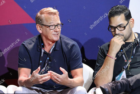 Andreas Combuechen (CEO, Stanleyai), Junior Sanchez (Partner and President, AandR Utopia Music)